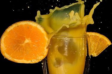 succo di arancia con estrattore,procediemento